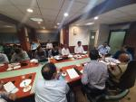 A state level meeting on the preparedness to tackle coronavirus at NHM, Assam SHQ