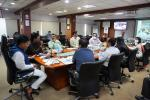 VC with districts on performance of MMU, Wage Compensation & Database of Health Workers for Covid Vaccine